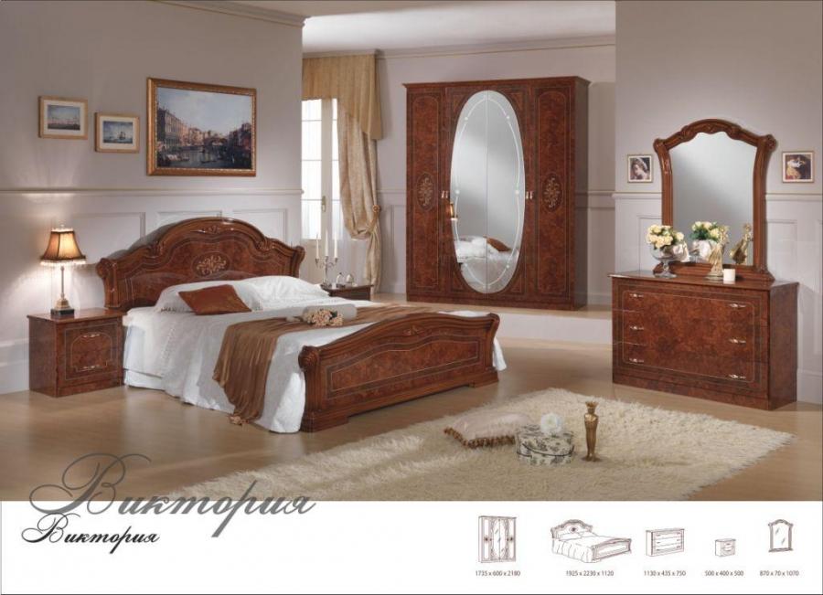 виктория серия для спальни диа мебель купить в москве Mebelnyru