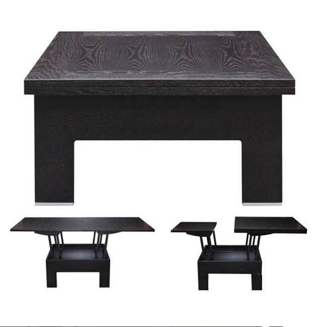 стол трансформер журнальный эдельвейс мдфшпон дуба 0102